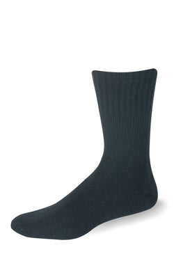 Support Postal Crew Black Socks - Postal Uniform Bonus