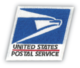 USPS Eagle emblem patch is included on all postal uniforms