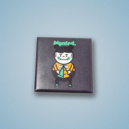 "Chubby Kid 1.5"" Square Button-[size]-[color]-Square Buttons-Mynted"