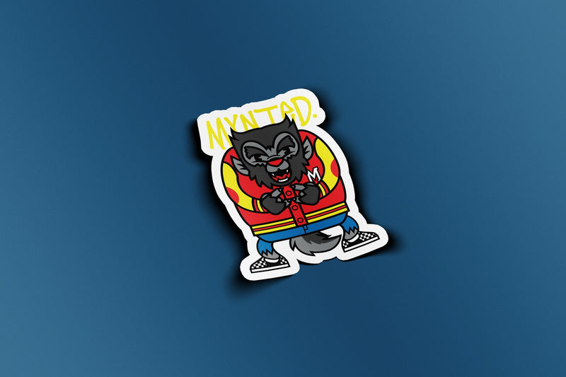 "Jack Wolf 3"" Die Cut Sticker-[size]-[color]-Sticker-Mynted"