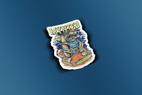 "Mummy Dog 3"" Die Cut Sticker-[size]-[color]-Sticker-Mynted"