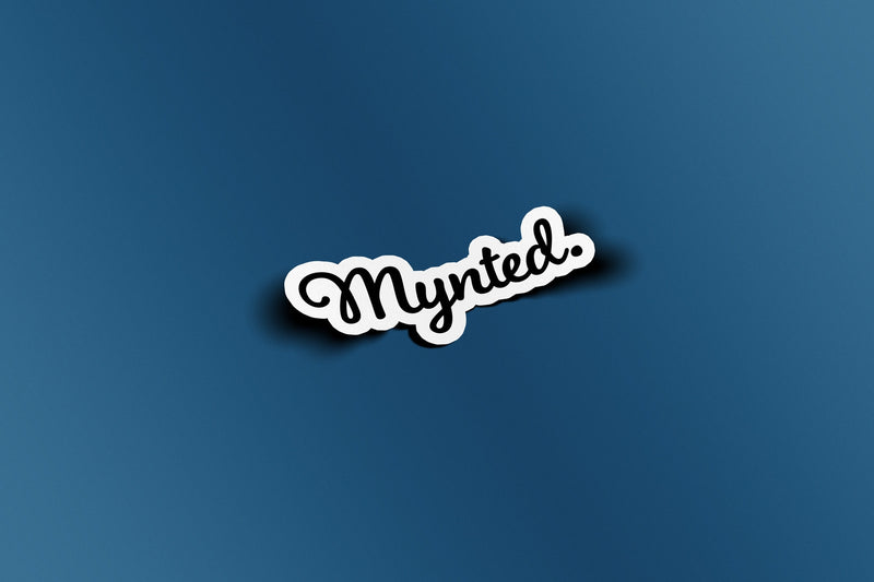 "Mynted. 3"" Die Cut Sticker-[size]-[color]-Sticker-Mynted"