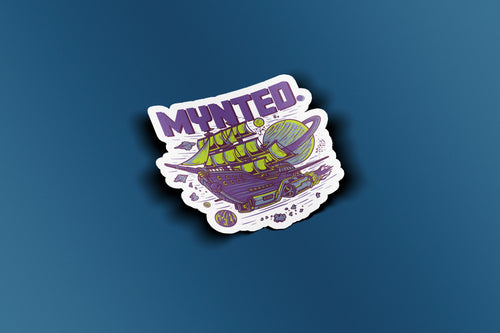 "Pirate Spaceship 3"" Die Cut Sticker-[size]-[color]-Sticker-Mynted"