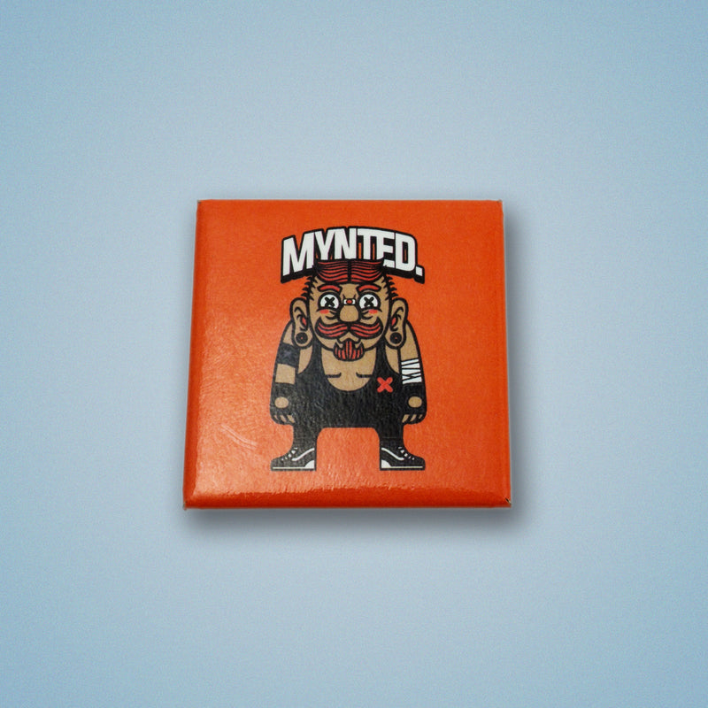 "Wrestler 1.5"" Square Button-[size]-[color]-Square Buttons-Mynted"