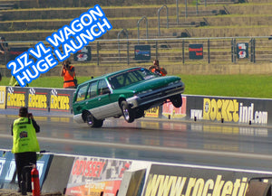 Danny Lansdowne 2JZ Commodore Wagon Wheelstand