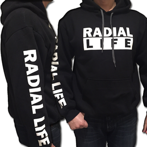 RL Boxed Modified Car Hoodie Black