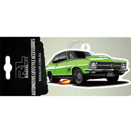 LC Coupe GTR Torana Car Air Freshener 3 Pack