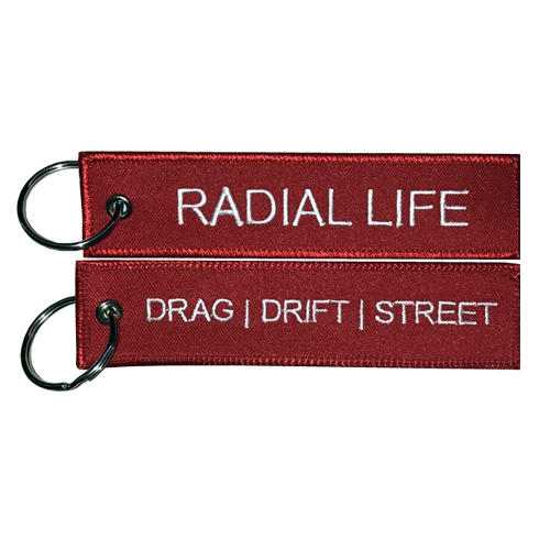 Jet Tag Keychain | Radial Life