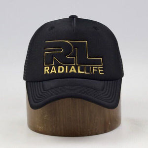 Hat Trucker Snap Back Black & Gold