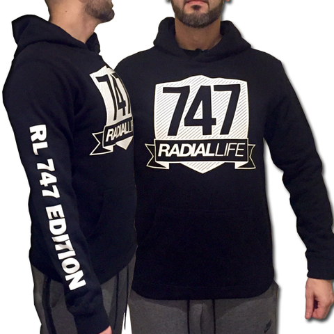 747 Range – Limited Edition | Radial Life Hoodie