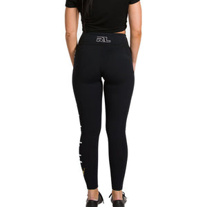 Signature Crown Active Wear Leggings - Black