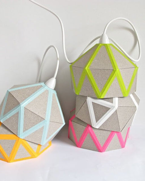 lampara decoracion diy