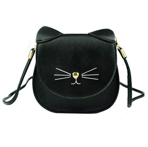 Cute Cat Face Shape Design Handbag