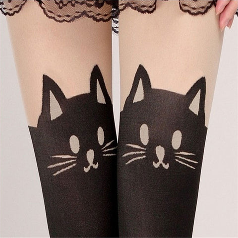 Cute Cat Tail Leggings