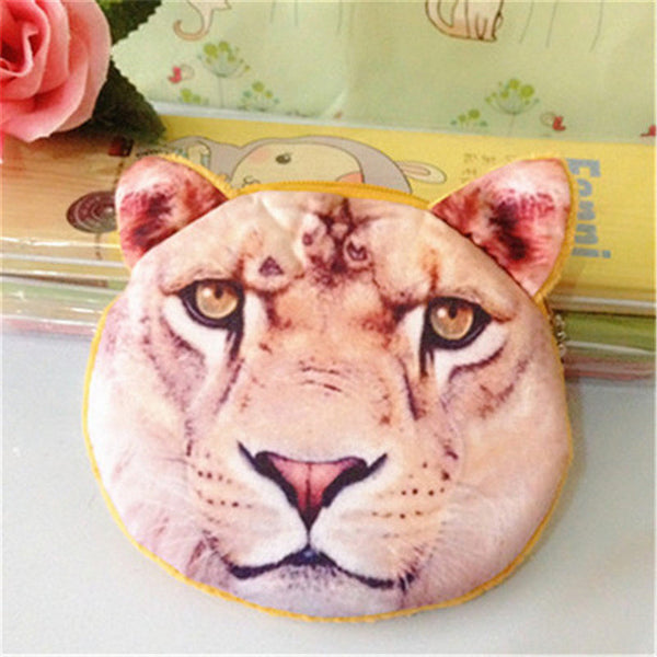 3D Animal Print bag for ladies