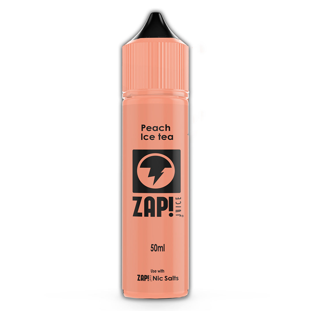 Peach Ice Tea - Zap Juice Online UK | E-Liquid | Vape Shop  | Authentic flavours