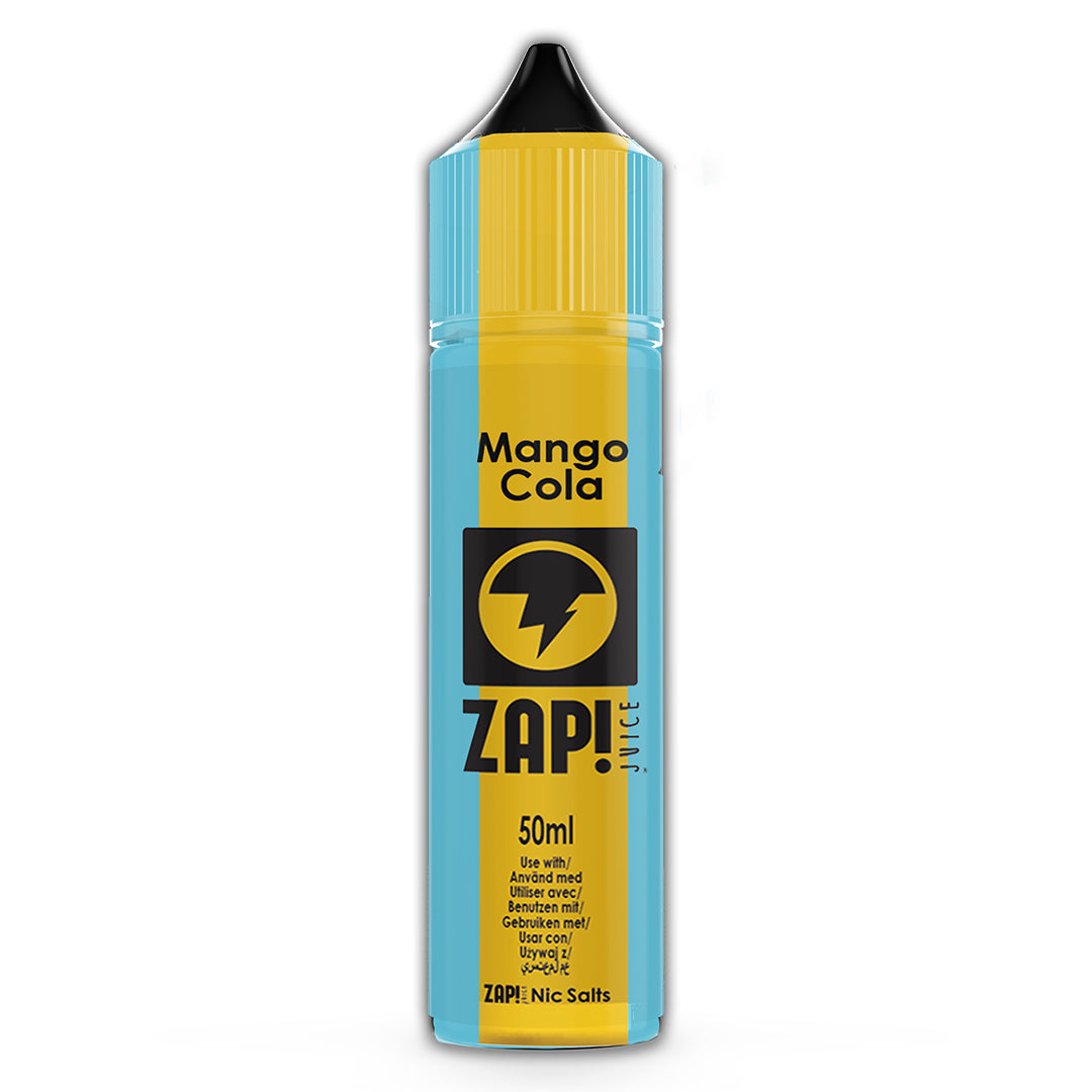 Mango Cola - Zap Juice Online UK | E-Liquid | Vape Shop  | Authentic flavours