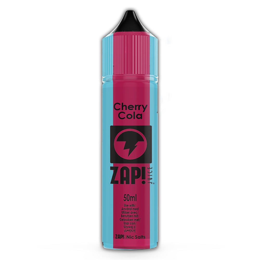Cherry Cola - Zap Juice Online UK | E-Liquid | Vape Shop  | Authentic flavours