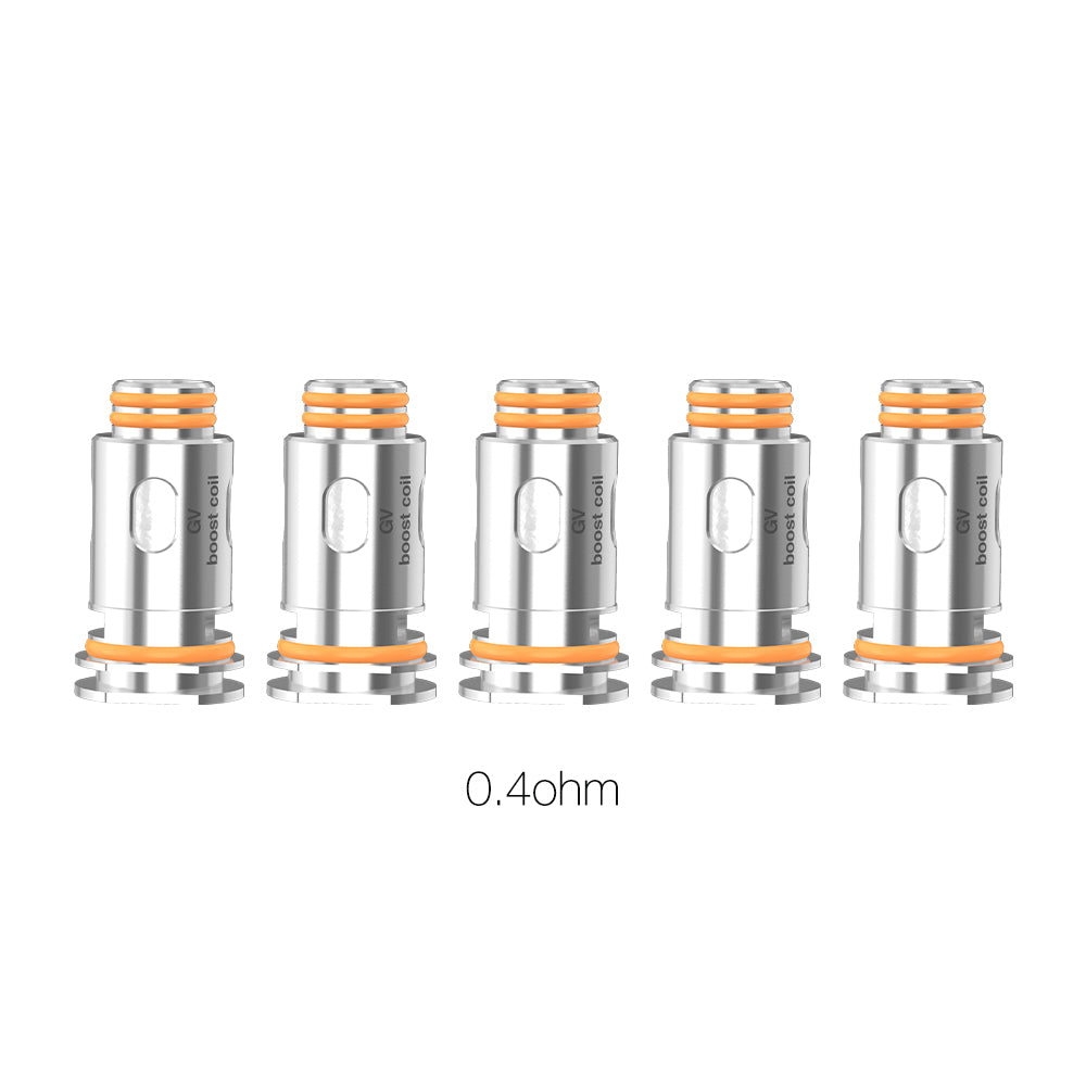 Geekvape Aegis Boost Replacement Coils 5pack (0.4ohm) - Zap Juice Online UK | E-Liquid | Vape Shop  | Authentic flavours