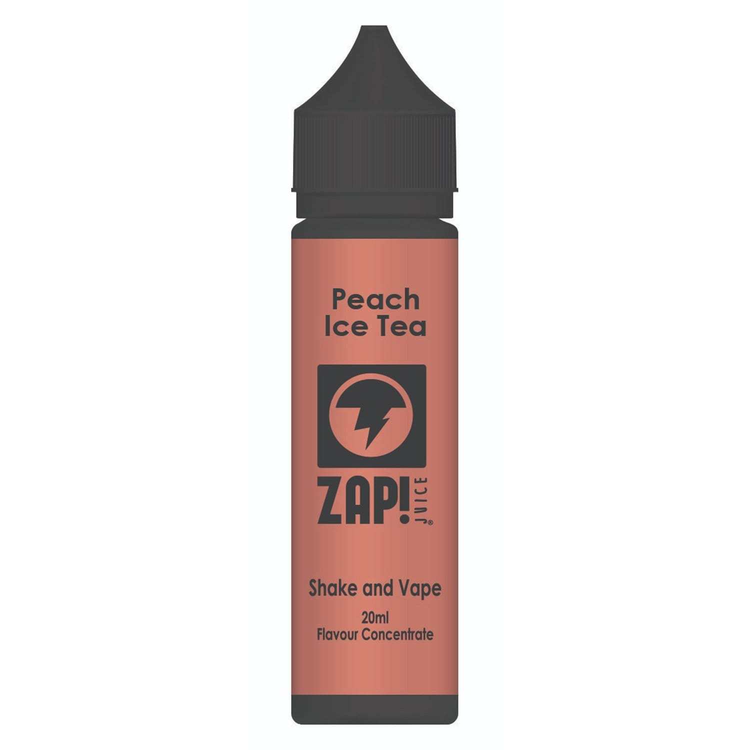 ZAP! Juice Peach Ice Tea Shake and Vape 20ml Flavour Concentrate - Zap Juice Online UK | E-Liquid | Vape Shop  | Authentic flavours