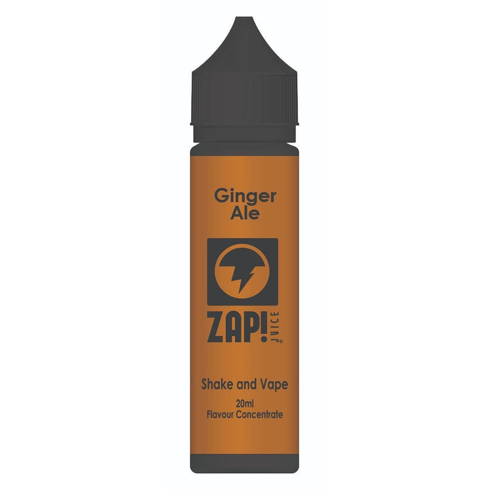 ZAP! Juice Ginger Ale Shake and Vape 20ml Flavour Concentrate - Zap Juice Online UK | E-Liquid | Vape Shop  | Authentic flavours