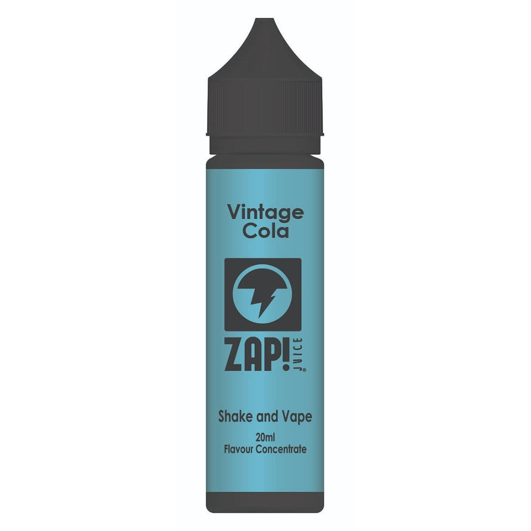 ZAP! Juice Vintage Cola Shake and Vape 20ml Flavour Concentrate - Zap Juice Online UK | E-Liquid | Vape Shop  | Authentic flavours