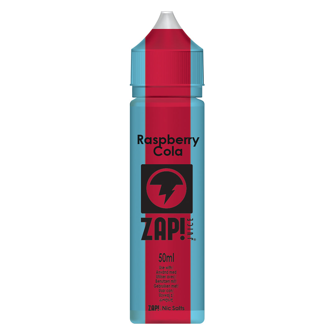 Raspberry Cola - Zap Juice Online UK | E-Liquid | Vape Shop  | Authentic flavours