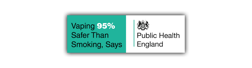 public Health England vaping 95% safer is vaping safe