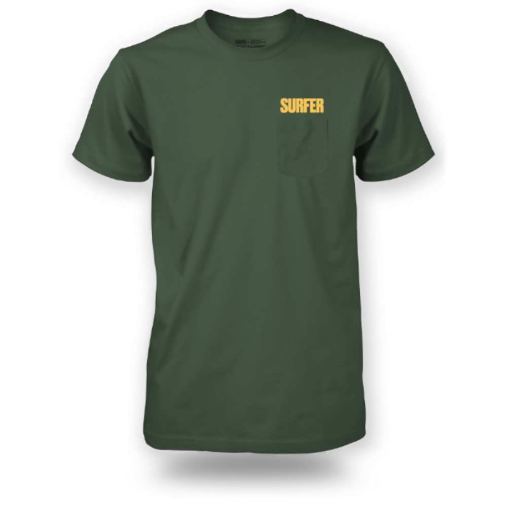 SURFER T-Shirts - Above Pocket Tee - United Surf Co-Op 30cb7461ad2c