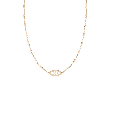 Family Knot Medallion Lariat