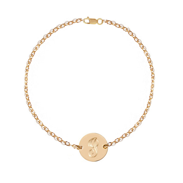 Personalized Disc Bracelet | Anklet