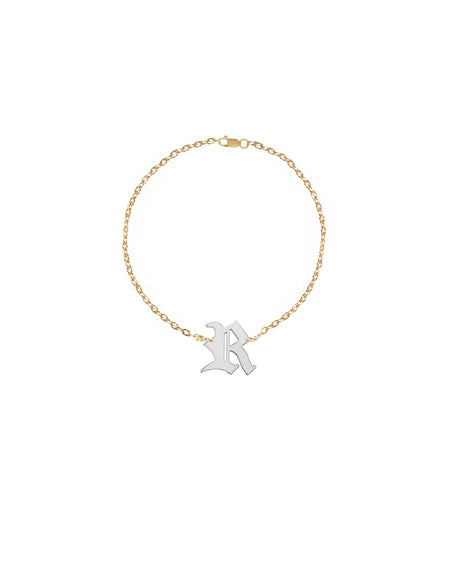 Personalized Diamond Initial Bracelet | Anklet