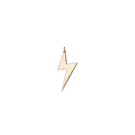 Mini CZ Lightning Bolt Charm