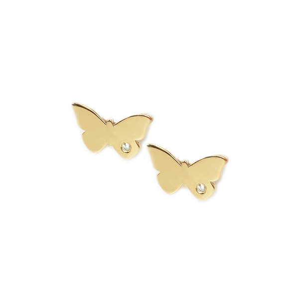 Butterfly Diamond Earrings