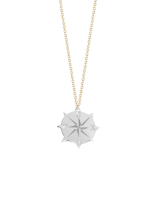 Compass Medallion Necklace