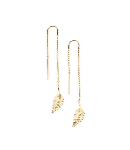 Demeter Leaf Earrings