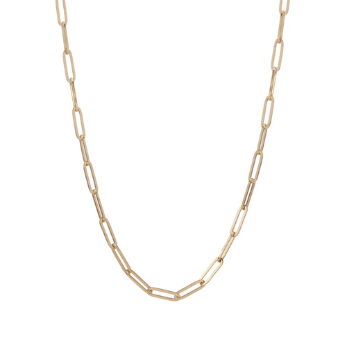 Elle Paperclip Large Link Chain