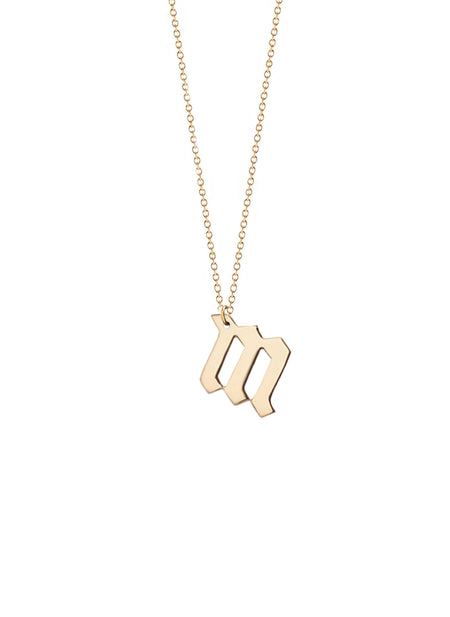Personalized Initial Cascade Necklace