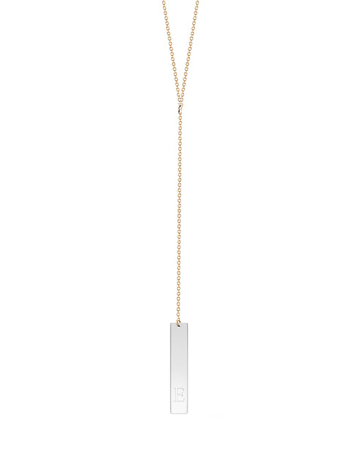 Vertical Lariat Necklace
