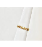 Milena Cuban Link Chain Ring