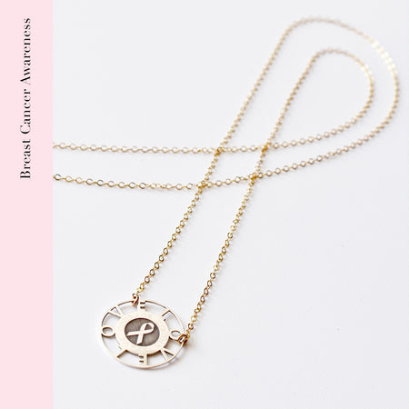 Lock Personalized Elle Peperclip Necklace