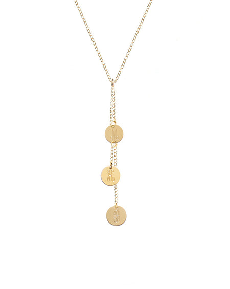 Love is Forever Token Necklace