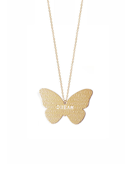 Butterfly Inspiration Necklace