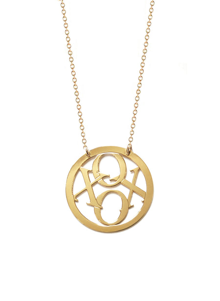 Good Luck Medallion Necklace