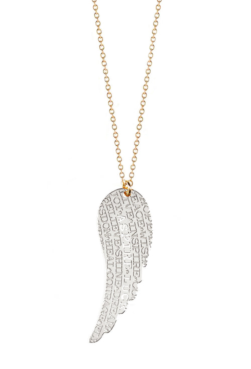 Wing Inspiration Necklace