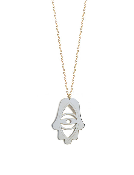 Hamsa Good Luck Necklace
