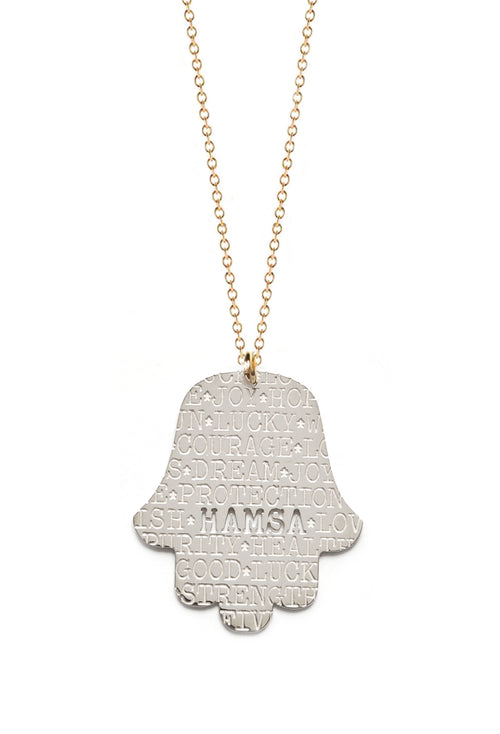 Good Karma Hamsa Necklace
