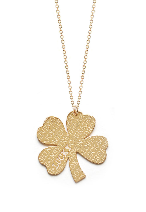 Lucky Four Leaf Clover