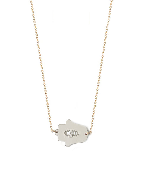 Good Luck Hamsa Necklace