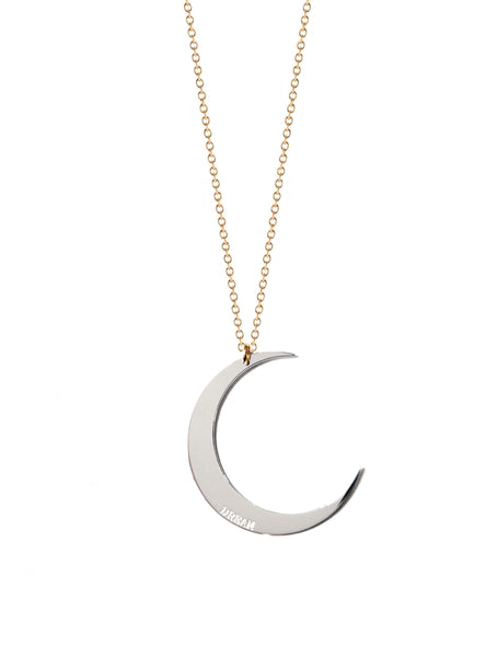 Selene Crescent Moon Necklace